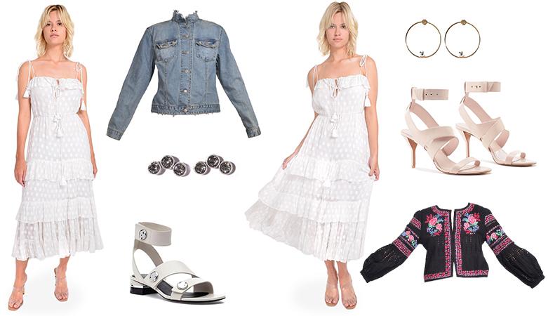 Karina Grimaldi Dress Day to Night Outfit Inspiration