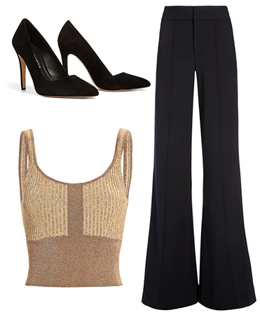 Wide Leg Trouser Outfit Inspiration